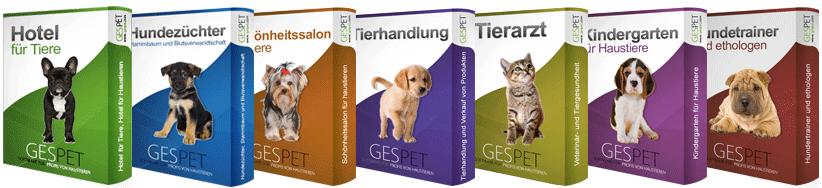 Hundezucht, Hundesalon, Tierklinik
