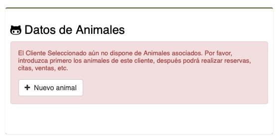 software gestion mascotas