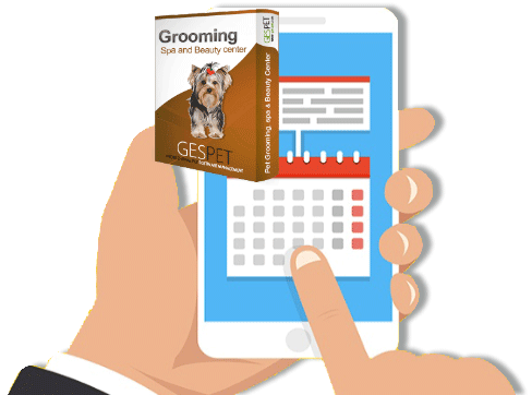automatic reminder animal pet grooming