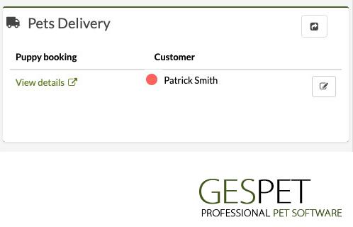 software pet transport dog delivery
