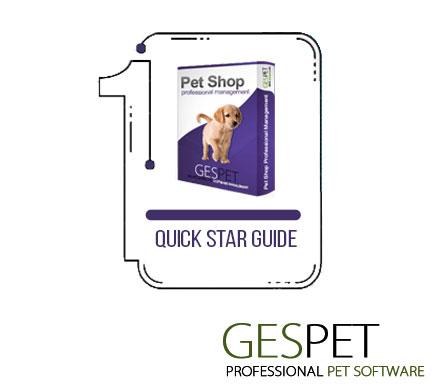 quick start guide petshop software