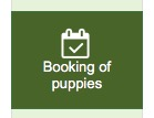 software booking puppies